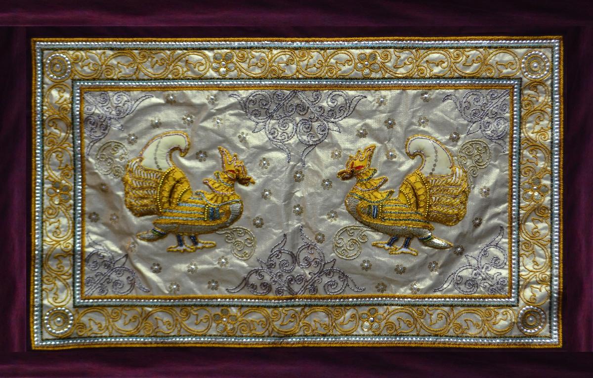 ေရႊခ်ည္ထိုး (Gold Embroidery)