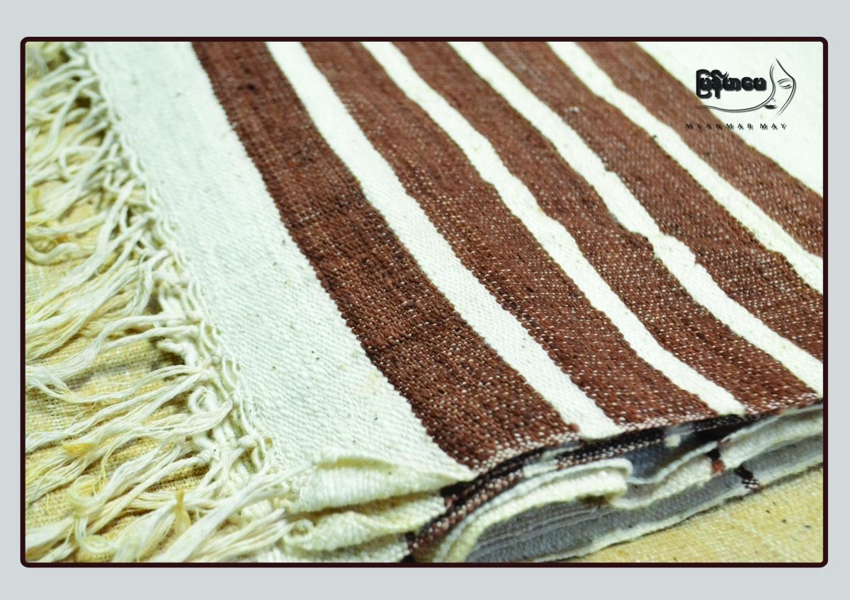 သဘာ၀ဆိုးေဆးပု၀ါ (Natural Dye Shawl &Scarf)